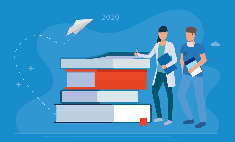 Neue Fachbücher 2020: Ein Blick in die Zukunft.