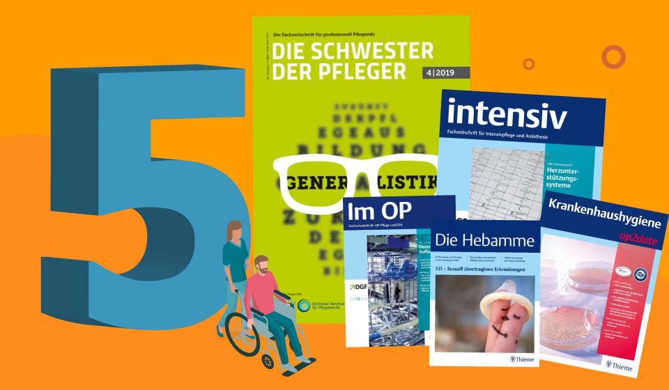 Fachzeitschriften für die Pflege – unsere Top 5